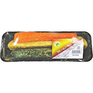 3色のぬか野菜の写真