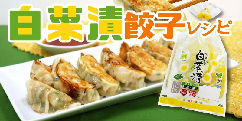 白菜漬餃子
